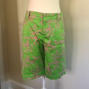 RARE - LILY PULITZER - Bermuda Shorts - Coral